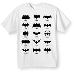 Batman Logo History T-Shirt