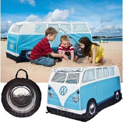 Classic Blue VW Camper Play Tent