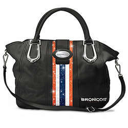 Denver Broncos Mile High City Chic Handbag