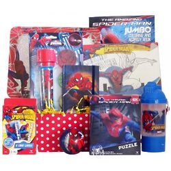 Spiderman Fun and Games Gift Basket