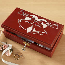 Personalized Wedding Keepsake Box