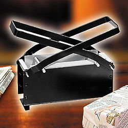 Newspaper Brick Maker for Fireplace