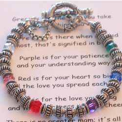 Mother's Color Bracelet