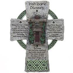 """8"""" Irish Home Blessing Cross"""
