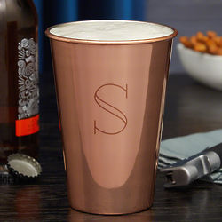 Personalized Kemper Copper Beer Glass