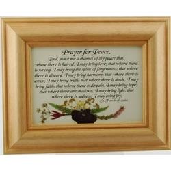 Prayer for Peace - St. Francis Prayer Framed Print