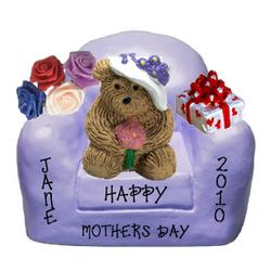 Personalized Mommy Bear in Chair