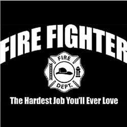 Fire Fighter Job T-Shirt