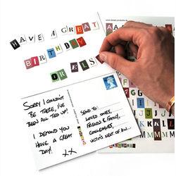 Blackmail Postcard