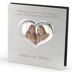 Figural Heart Photo Album