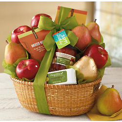 Birthday Fruit and Snacks Gift Basket