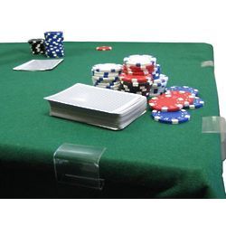 Green Poker and Card Table Felt