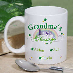 Irish Blessings Ceramic Coffee Mug