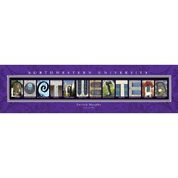 Northwestern University Personalized Print