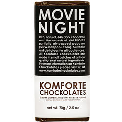 Movie Night Chocolate Bar