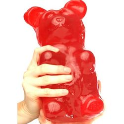 5 Pound Cherry Flavored Gummy Bear