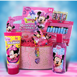 Minnie Mouse Activities Gift Basket