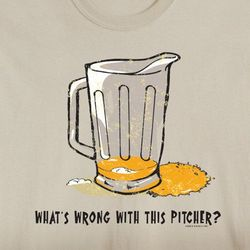 What's Wrong with this Pitcher T-Shirt