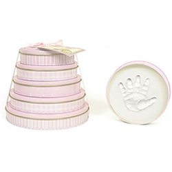 Pink Child To Cherish Keepsake Handprint