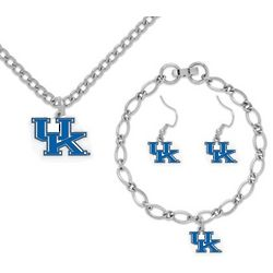 Kentucky Wildcats Women's Jewelry Gift Set