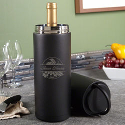 Personalized Rhone Valley Portable Wine Cooler