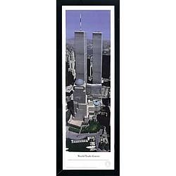 World Trade Center Framed Panoramic Print