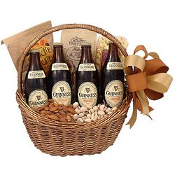 Guinness Fan Beer Gift Basket