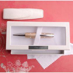 Swarovski Crystal Champagne Glitz Pen