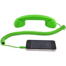 Moshi Moshi Retro Telephone Handset in Lime Green