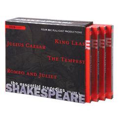 Shakespeare Essential Tragedies CD Set