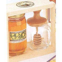 Honey Acres Honey with Dipper Jar