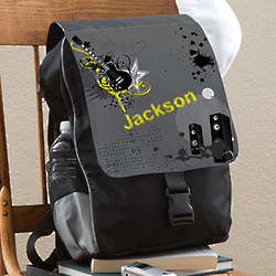Kid's Guitar Personalized Backpack