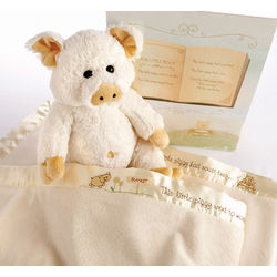 Pig in a Baby Blanket Gift Set