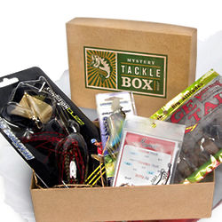 Mystery tackle box 3 month gift subscription for Fishing box subscription