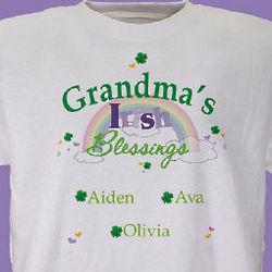 Irish Blessings Personalized T-Shirt