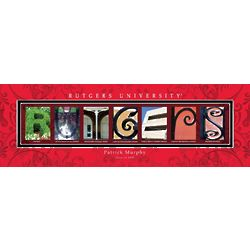 Rutgers University Personalized Print