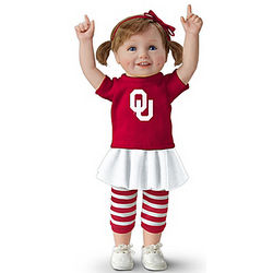 Sooner Girls Have More Fun Child Doll