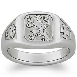 Personalized Zodiac, Academics and Interest Tungsten Ring