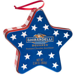 Patriotic Star Gift Tin