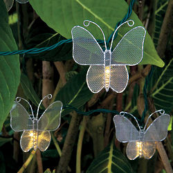 Metal Butterfly String Lights