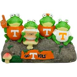 Tennessee Volunteers Frog Bench Lawn Sculpture