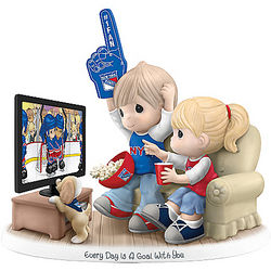 Every Day Is a Goal with You New York Rangers Figurine