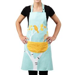 Nesting Birds Design Apron