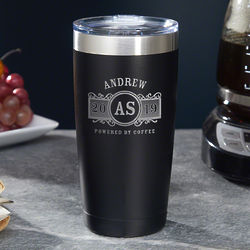 Marquee Personalized Insulated Coffee Tumbler
