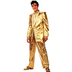 Elvis 'Gold Suit' Lifesize Standup