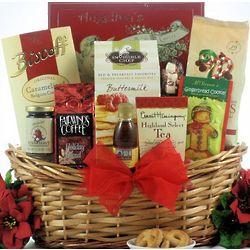 Jolly Christmas Morning Breakfast Gift Basket