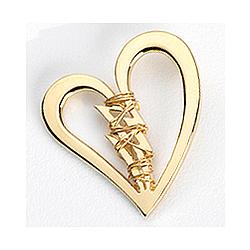 Mended Broken Heart Lapel Pin