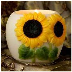 Sunflower Votive Candle Holder