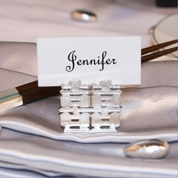 Double Happiness Placecard Holder