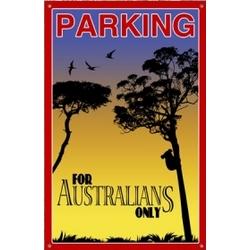 Australian Parking Sign
